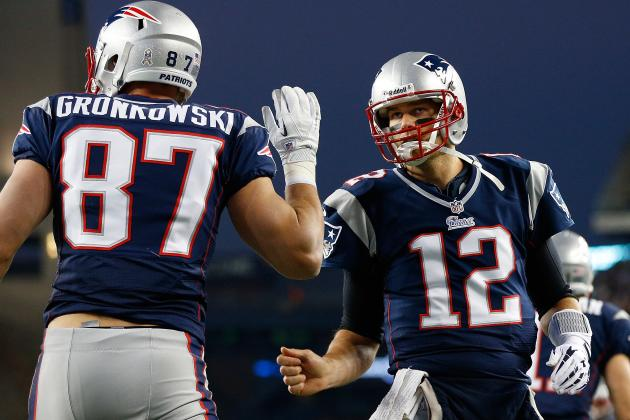 Tom Brady Isn't Worried About Playing Without Gronkowski