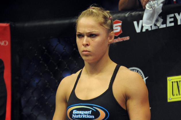 Ronda Rousey: Georges St-Pierre