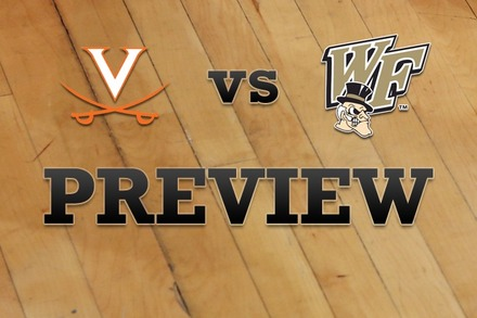 Virginia vs. Wake Forest: Full Game Preview