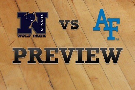 Nevada vs. Air Force: Full Game Preview