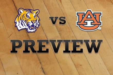 LSU vs. Auburn: Full Game Preview