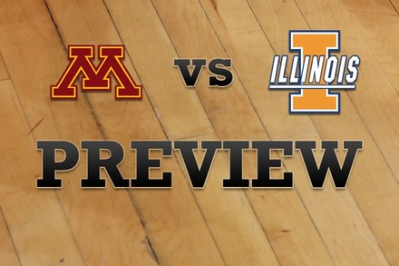 Minnesota vs. Illinois: Full Game Preview