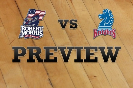 Robert Morris  vs. Fairleigh Dickinson: Full Game Preview