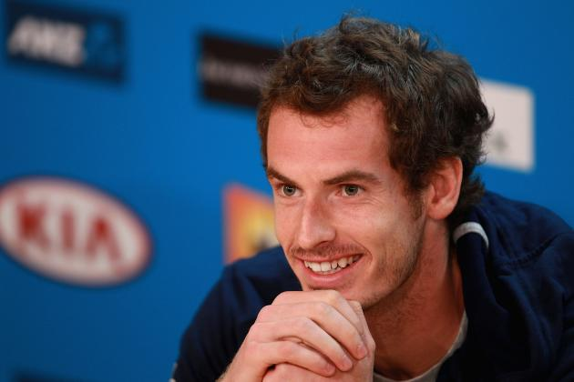 Andy Murray Defeats Robin Haase at 2013 Australian Open