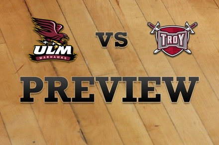 Louisiana-Monroe vs. Troy: Full Game Preview