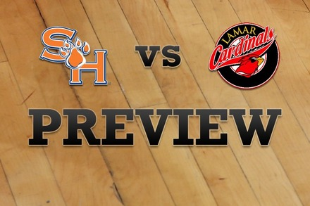 Sam Houston State vs. Lamar: Full Game Preview