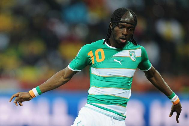Soccer-Gervinho Double Sends Strong Ivorian Message