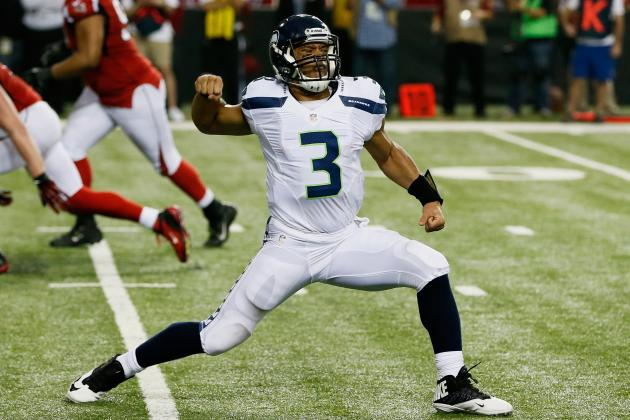 Grading Russell Wilson's Rookie Season After Playoff Loss to Falcons