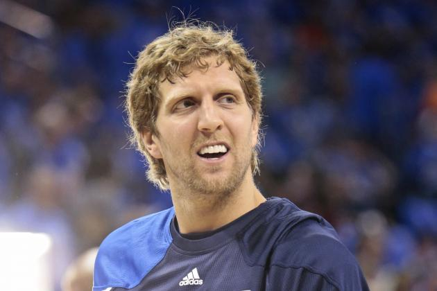 Is Dirk Nowitzki Nearing Full Strength?