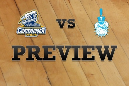Chattanooga vs. Citadel: Full Game Preview