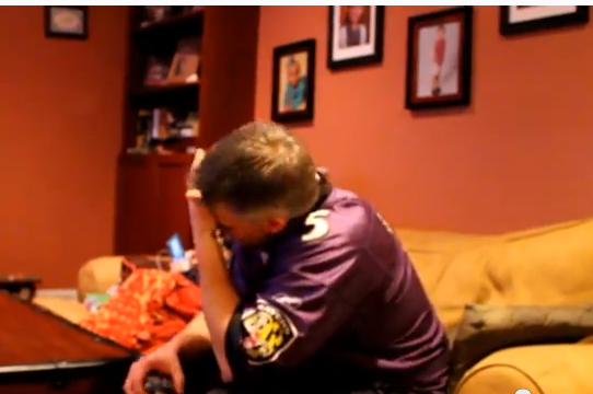Ravens Fan Forgets to Take Chill Pill, Freaks out After Playoff Victory