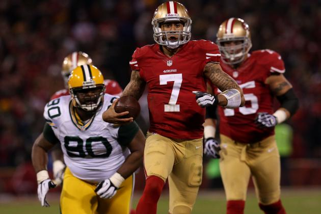 Colin Kaepernick: Dual Threat Has San Francisco 49ers Close to Super Bowl XLVII