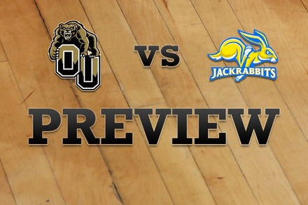 Oakland vs. South Dakota State: Full Game Preview
