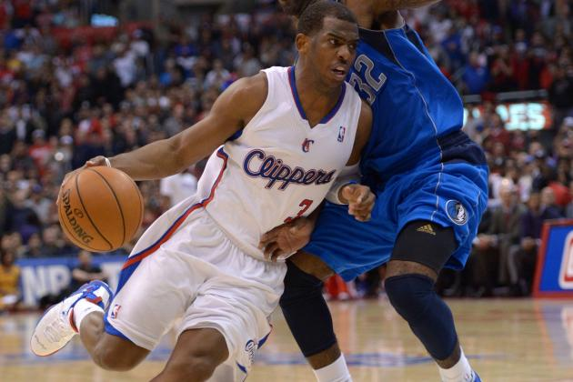 Chris Paul to Miss Memphis Game with Contusion in Right Kneecap
