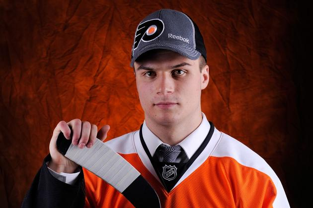 Scott Laughton, 18, Looks Good to Flyers