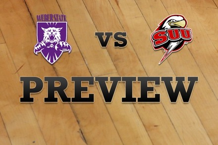 Weber State vs. Southern Utah: Full Game Preview