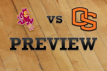 Arizona State vs. Oregon State: Full Game Preview