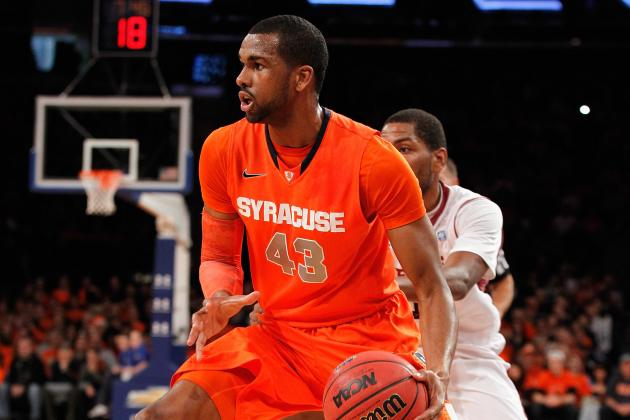 Jim Boeheim Says James Southerland's Eligibility Issue Could Be Resolved