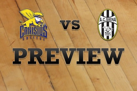 Canisius vs. Siena: Full Game Preview