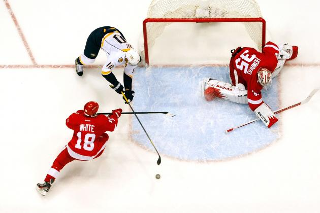 Red Wings Announce 2012-13 Schedule