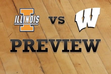 Illinois vs. Wisconsin: Full Game Preview