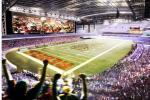 UNLV Planning $800M Stadium with 100-Yard Screen
