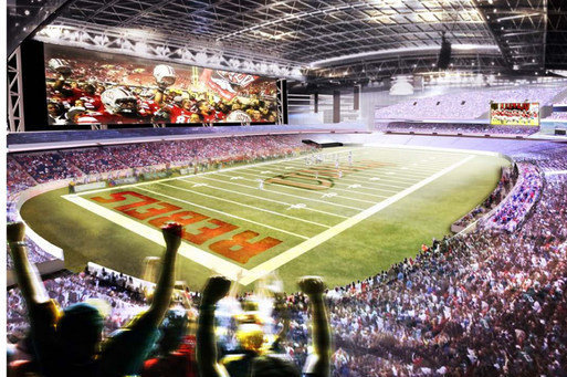 Planned Stadium Will Be State's 'next Big Thing,' UNLV Official Says
