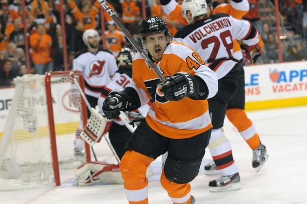 Danny Briere Injury: Updates on Flyers Star Center's Wrist