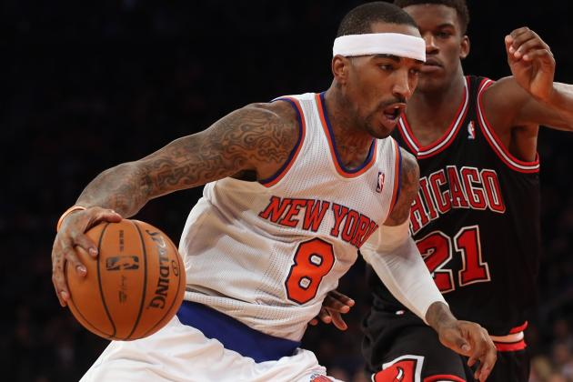 J.R. Smith Says Knicks Need to Make a Statement