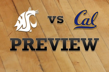Washington State vs. California: Full Game Preview