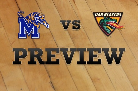Memphis vs. UAB: Full Game Preview