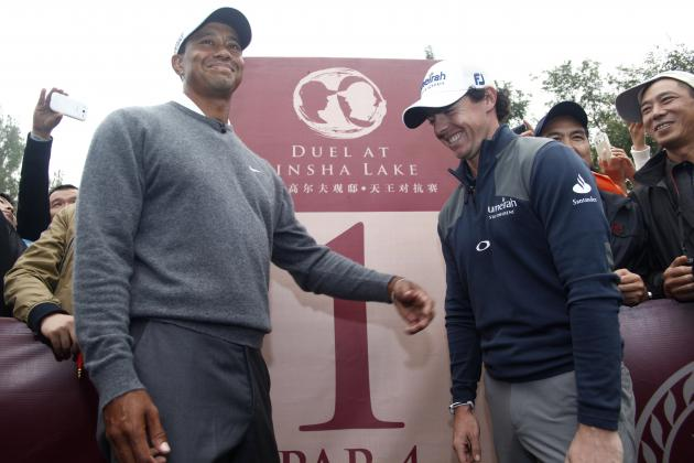 Rory McIlroy and Tiger Woods Commercial Highlights Promise of New PGA Season