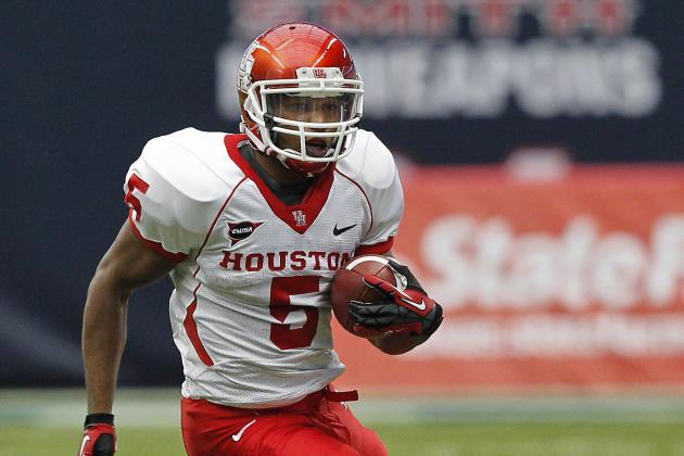Source: UH Running Back Sims to Return for Senior Season