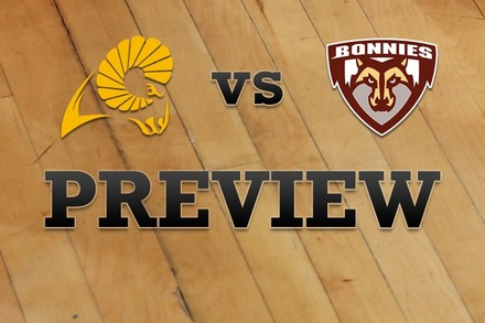 Virginia Commonwealth vs. St. Bonaventure: Full Game Preview