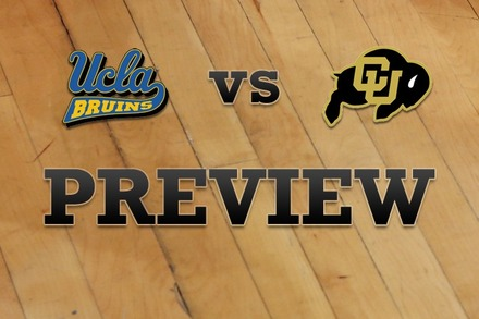 UCLA vs. Colorado: Full Game Preview