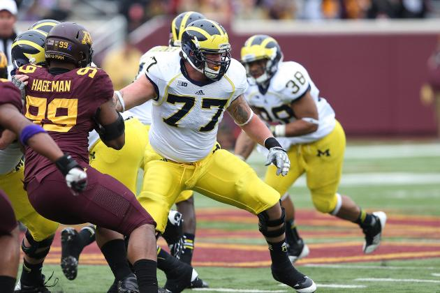 Michigan Football: Will Taylor Lewan's Return Influence 5-Star RB's Decision?