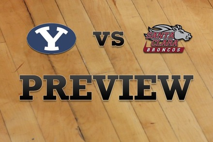 Brigham Young vs. Santa Clara: Full Game Preview