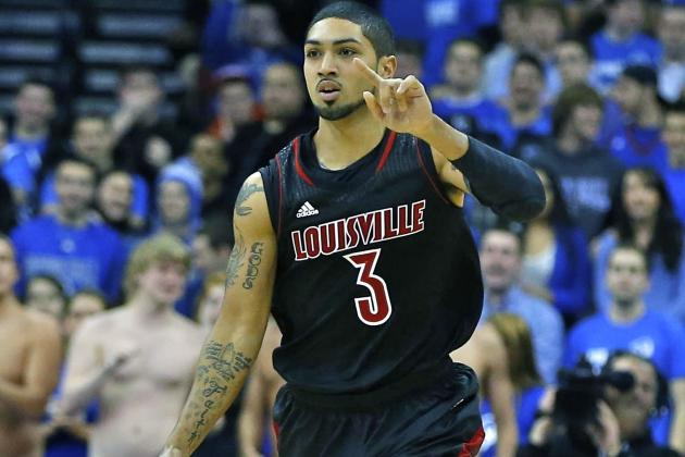 Louisville Rallies in Second Half to Top UConn 73-58 in Big East Action