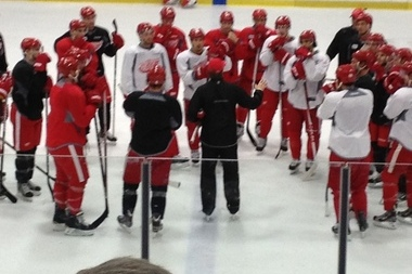 Red Wings Look Forward to Game Action Tuesday