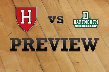 Harvard vs. Dartmouth: Full Game Preview