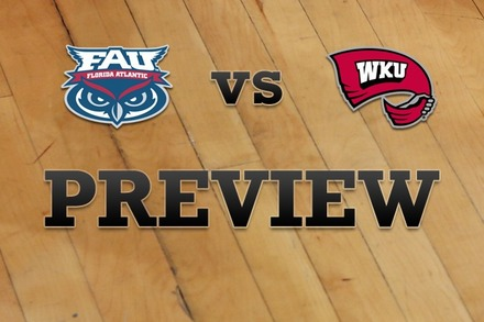 Florida Atlantic vs. Western Kentucky: Full Game Preview