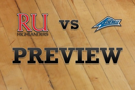 Radford vs. North Carolina-Asheville: Full Game Preview