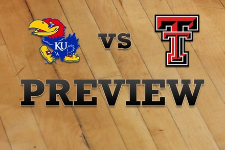 Kansas vs. Texas Tech: Full Game Preview