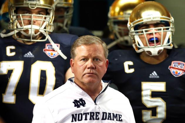 Brian Kelly Will Stay at Notre Dame, but Is He Really Staying?