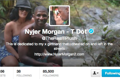 Nyjer Morgan Cheated on Girlfriend According to Twitter Confession: Update