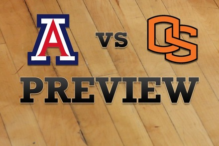 Arizona vs. Oregon State: Full Game Preview