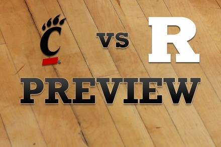 Cincinnati vs. Rutgers: Full Game Preview