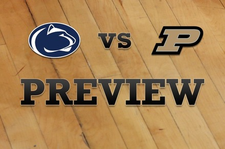 Penn State vs. Purdue: Full Game Preview