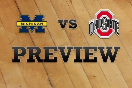 Michigan vs. Ohio State: Full Game Preview