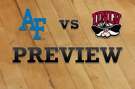 Air Force vs. UNLV: Full Game Preview
